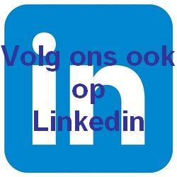 Volg ons ook op Linkedin